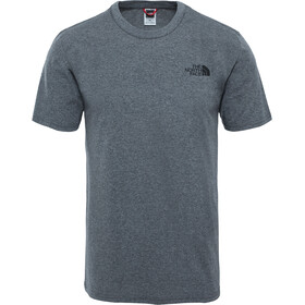 The North Face Simple Dome Lyhythihainen T-paita Miehet, tnf medium grey heather